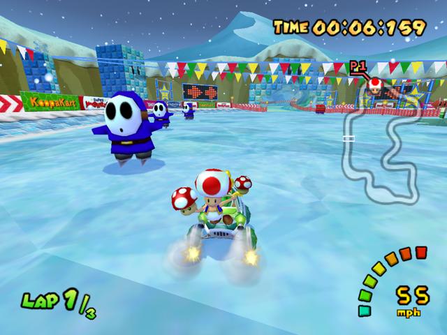 Vos jeux et niveaux où il fait froid préférés - Page 2 Sherbet-land-mario-kart-double-dash