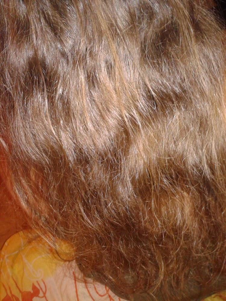 Moje włosy obecnie: