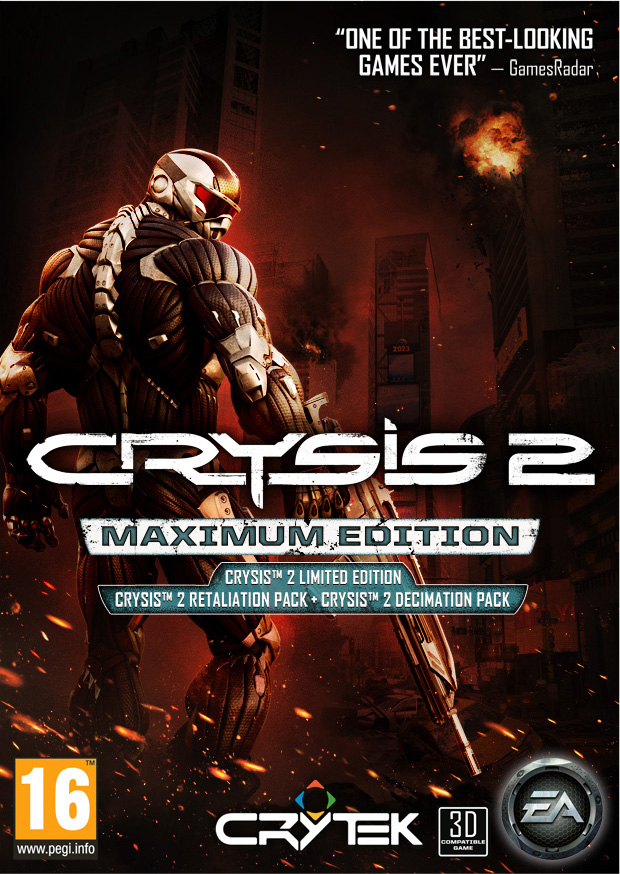 Crysis 2 Maximum Edition TeaMCrossFirE