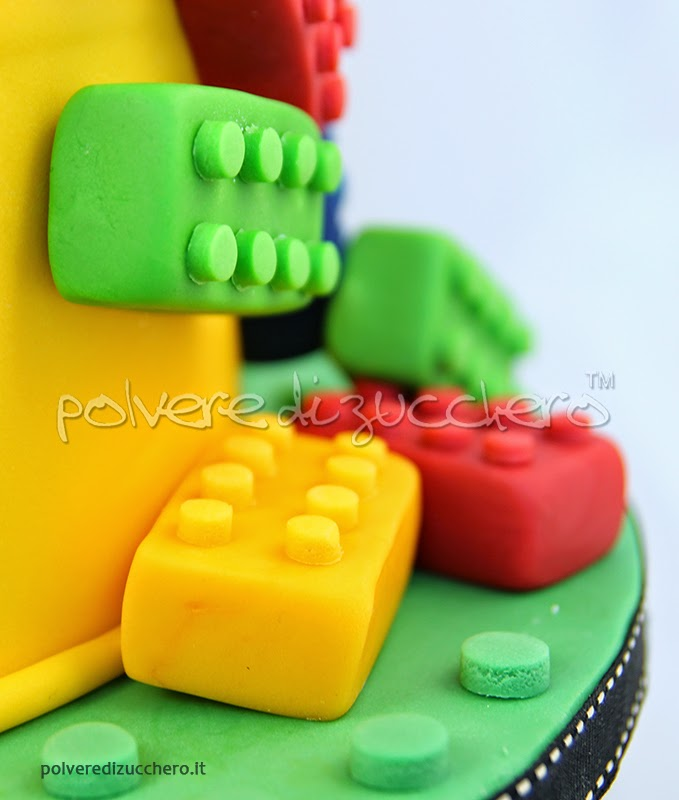 torta decorata vendita cake design torta lego ricette polvere di zucchero