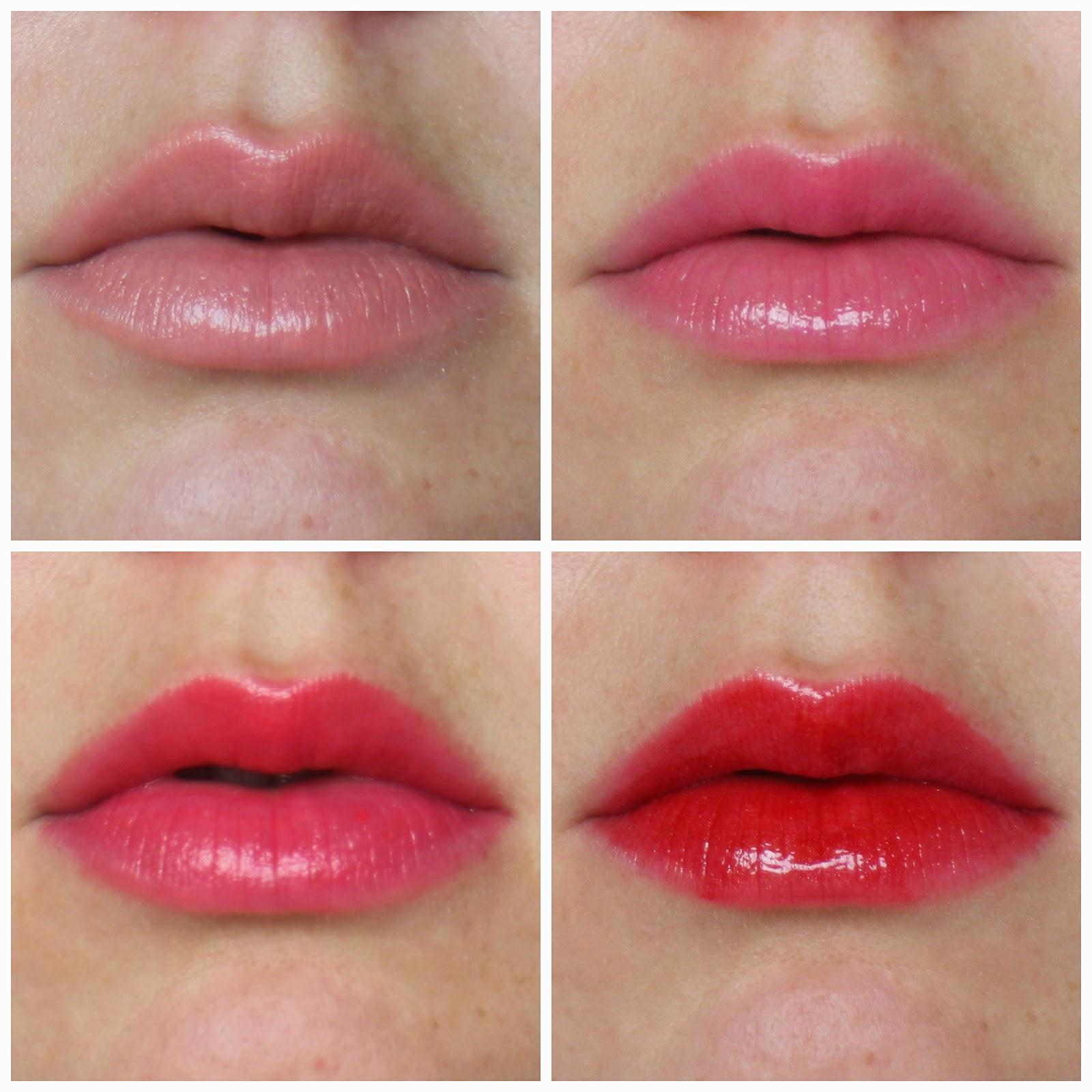 ysl lip swatch