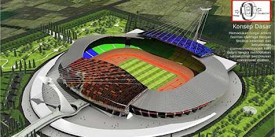 Stadion Bertaraf Internasional Akan Segera Rampung