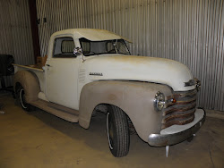 Start the work on 1950 pickup