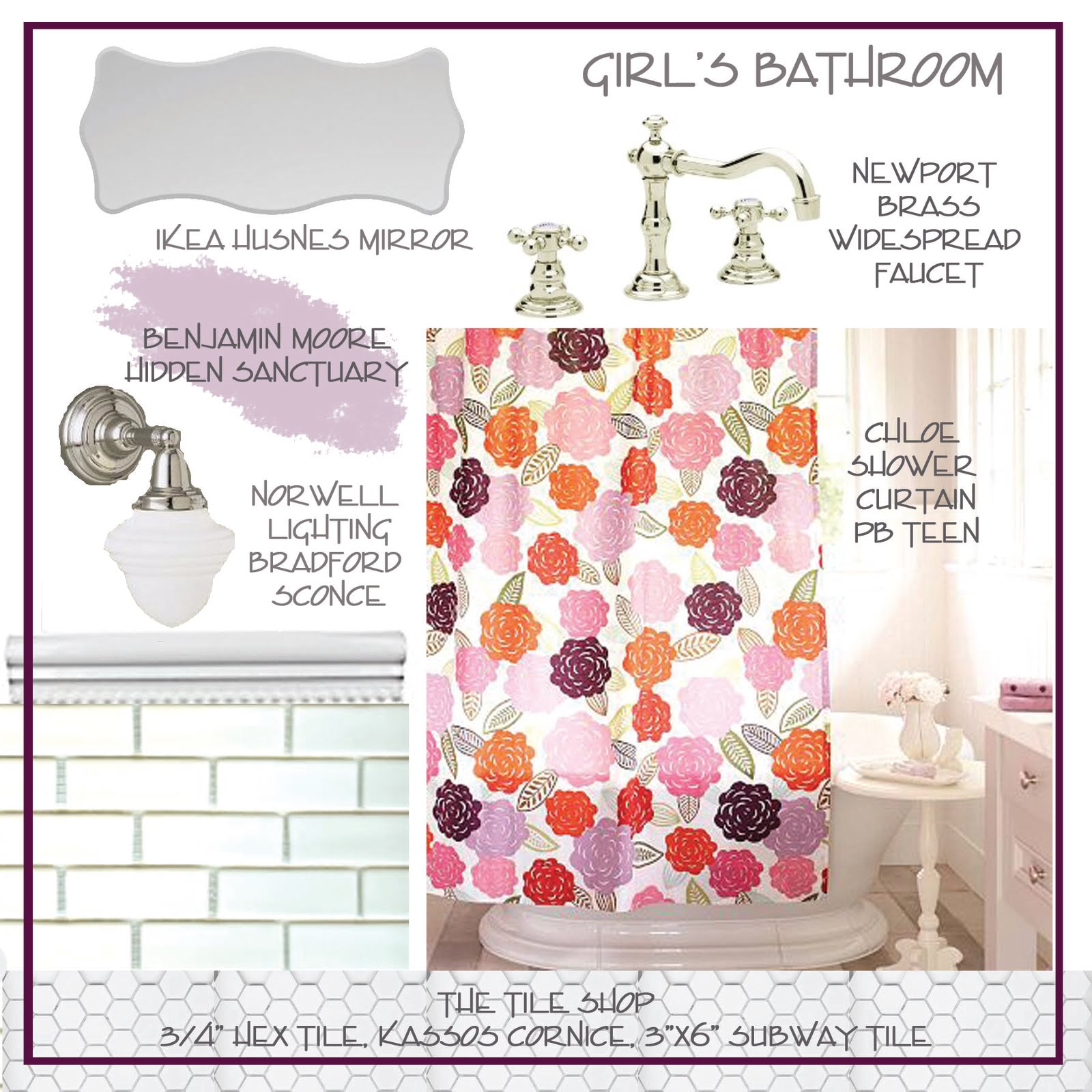 Welcome to Girl Land: Is It Fall Yet and Girl's Bathroom!