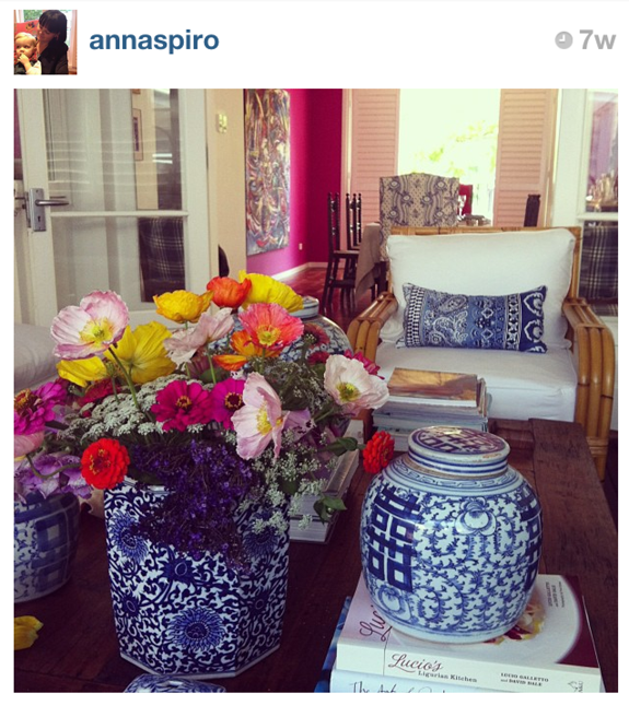Blue and White Monday -- Insta Blue & White