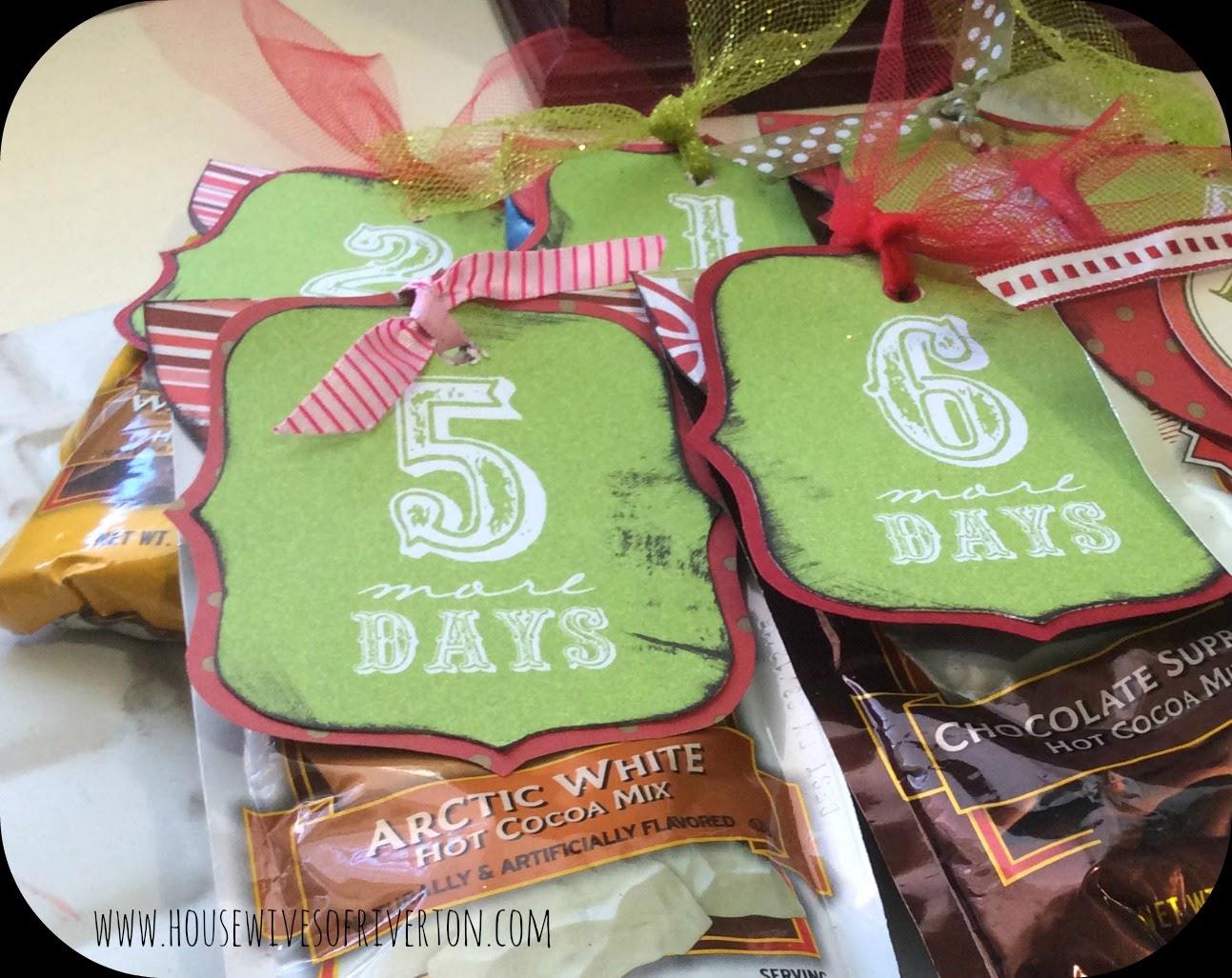 Hot Chocolate Christmas Countdown -