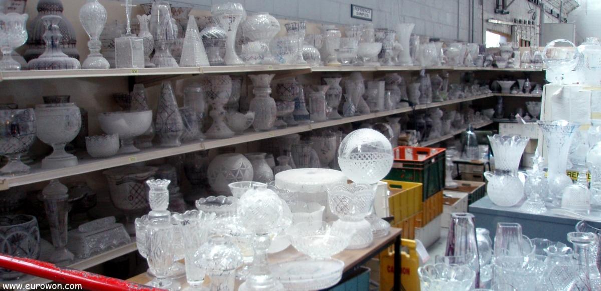 Visita a la f brica de cristal de waterford eurowon - Fabricantes de cristal ...