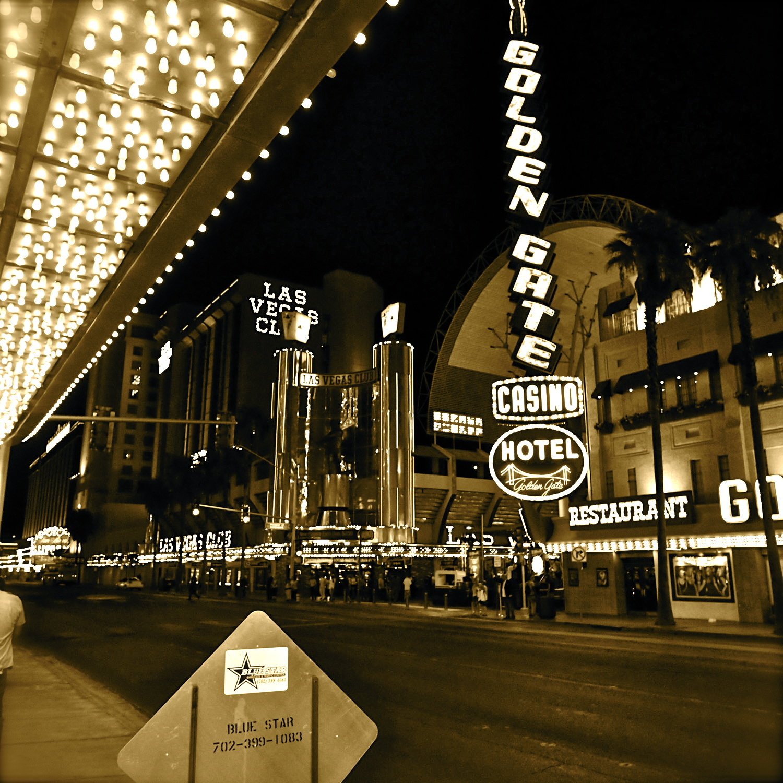Vintage Downtown Las Vegas