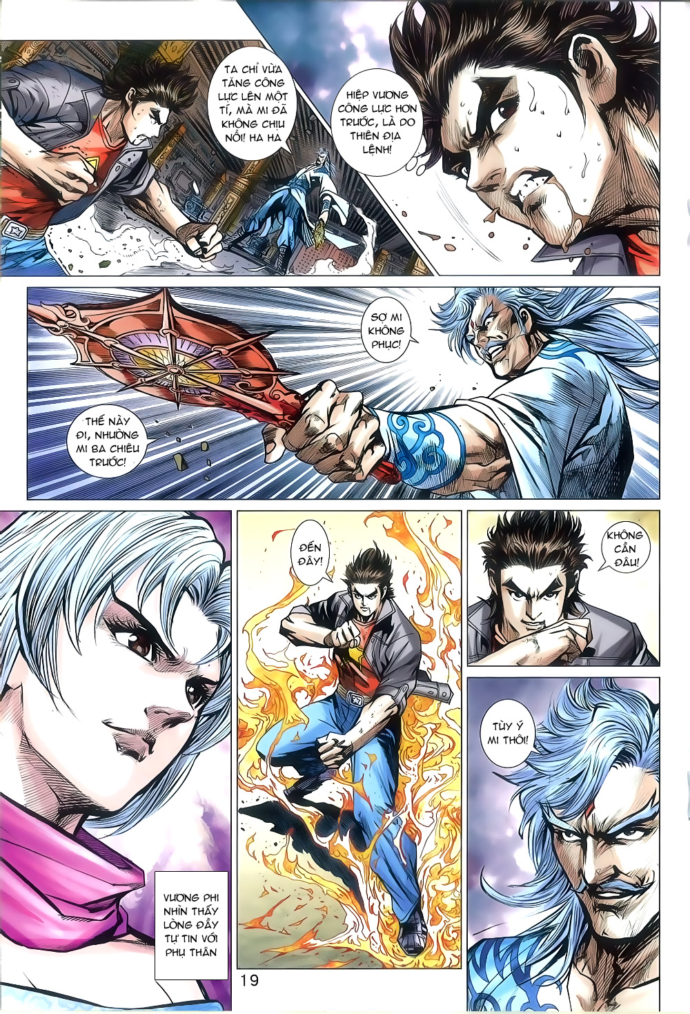 Tân Tác Long Hổ Môn chap 802 Trang 19 - Mangak.info