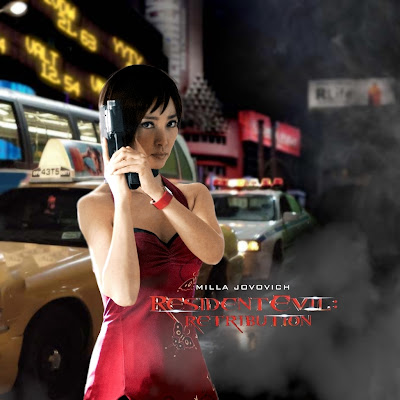 Ada Wong Resident Evil Retribution 2012 iPad Wallpaper