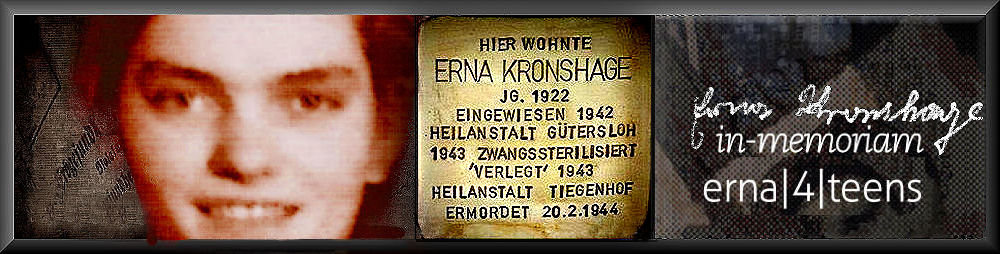 erna kronshage | in memoriam - 4 teens