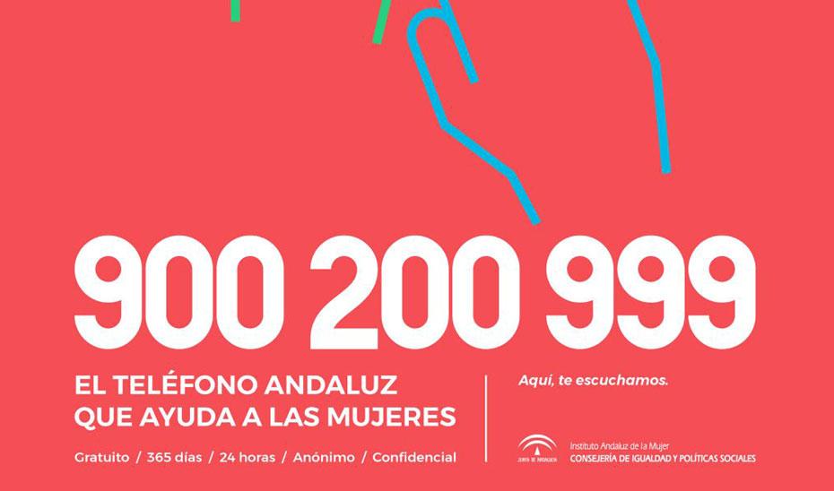 Teléfono andaluz de ayuda a las mujeres IAM