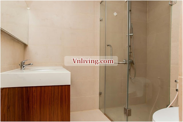 Thao Dien Pearl apartment for rent 2 bedrooms furnished at Block A