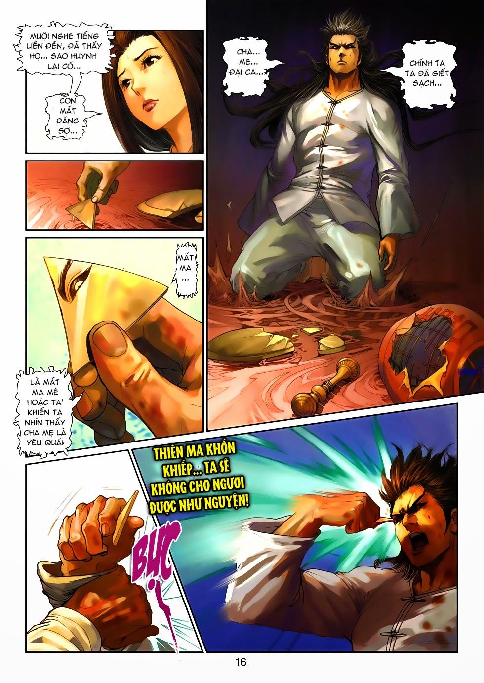 Thần Binh Tiền Truyện 4 - Huyền Thiên Tà Đế chap 10 - Trang 16