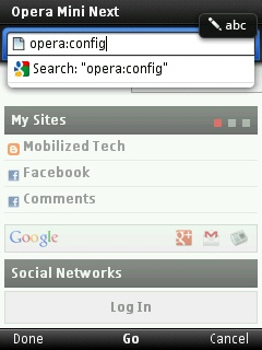 View Sinhala Fonts or any Other Bitmap Fonts in Opera mini