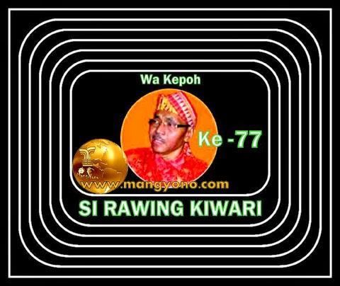 Seri 77 - Dongeng Wa kepoh - Si Rawing Kiwari
