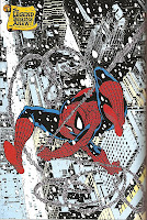 Todd McFarlane drawing of Spider-Man