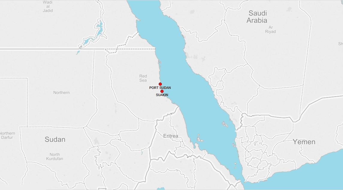 PORTS IN SUDAN