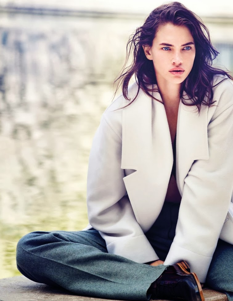 Crista Colber for Vogue Thailand September 2013 photographed by Marcin Tyszka Styled by Ekaterina Mukhina