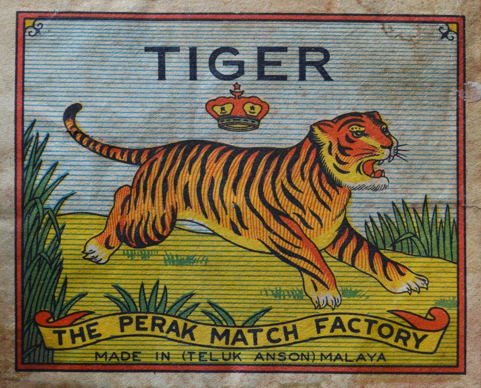 Tiger Brand The Perak Match Factory