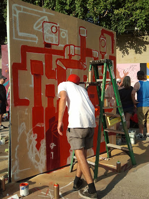 Urban Scrawl painting