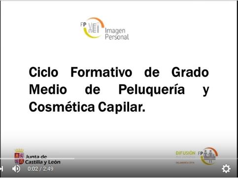 Vídeo Concurso Difusión FP - Peluquería y Cosmética Capilar