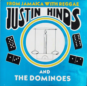 JUSTIN HINES AND THE DOMINOES LP EX EX