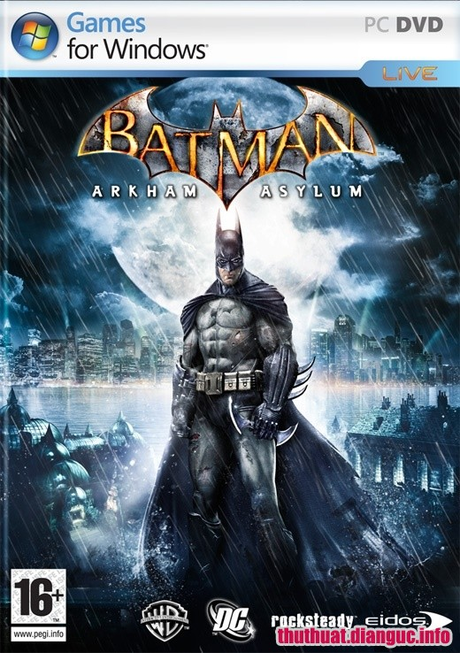 Download Game Batman: Arkham Asylum Full crack
