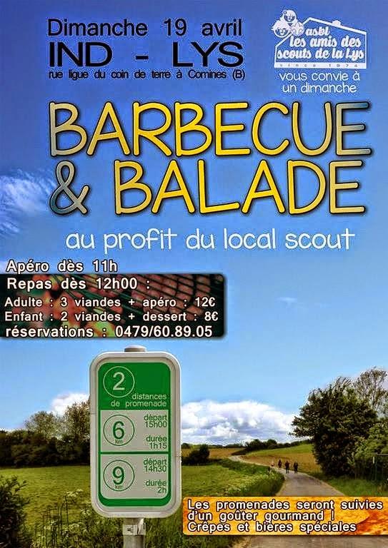 19 avril barbecue et balade