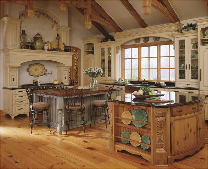 Key interiors by shinay old world kitchen ideas for Old world style kitchen