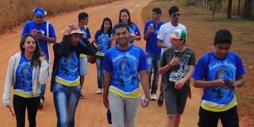 Juventude Missionária de Brasília (DF) realiza Missão Jovem em área rural
