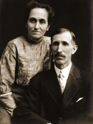 Walt Disney's parents