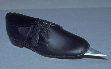 Top Ten 007 James Bond Gadgets The Spiked Shoes!