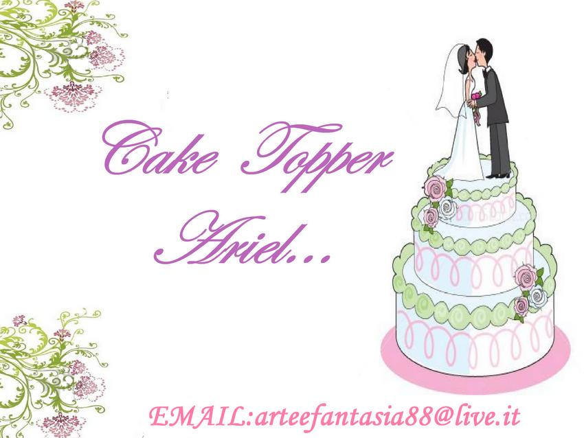 CAKE TOPPER ARIEL