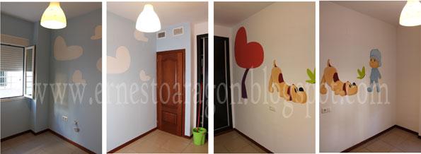 Ernesto arag n pintura para el hogar un pocoyo para diego - Pinturas para el hogar ...
