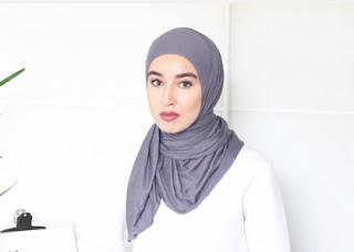 jilbab instan langkah 4