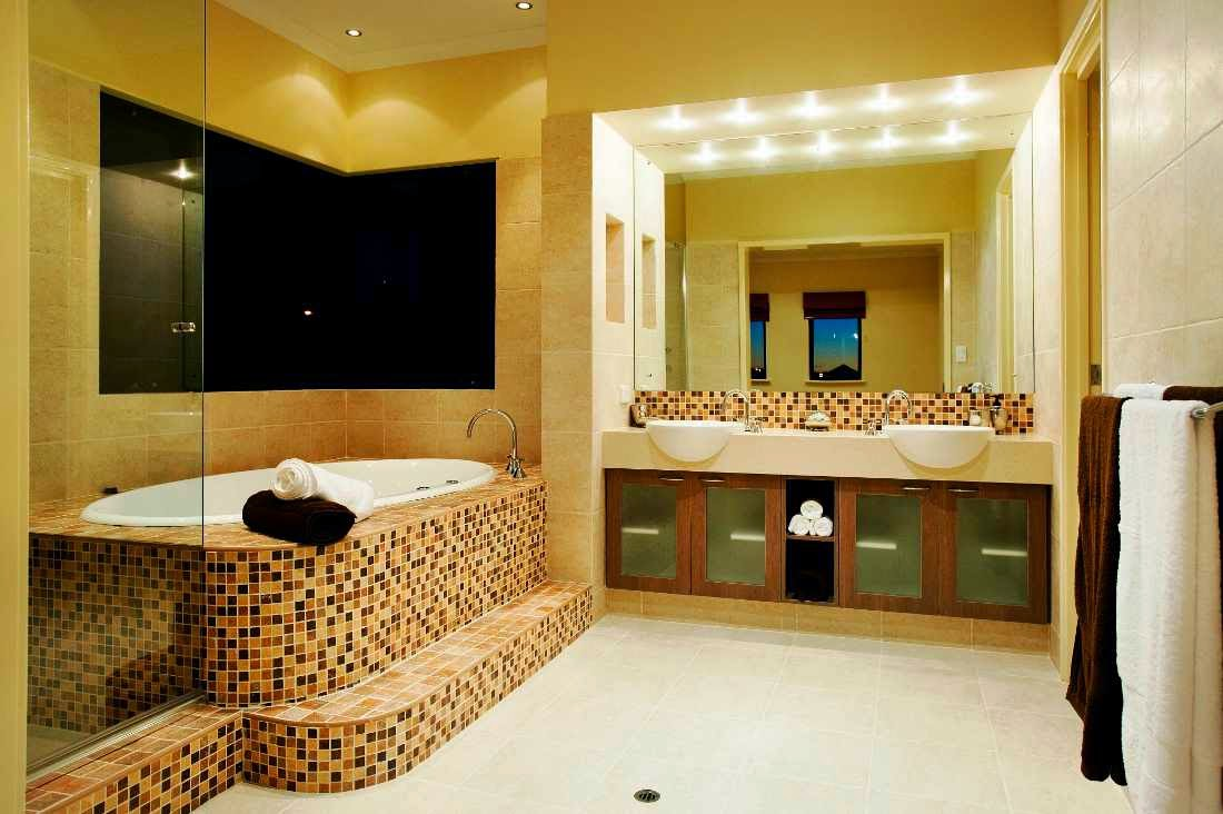 bathroom design blog. Luxurious Bathroom Decor With Unique Washbasin Design And Beautiful Mosaic On The Wall Also Lamp Above Blog A