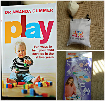 play amanda gummer bubabloon casdon ironing set