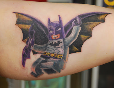 Cute Batman Tattoos