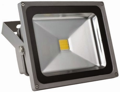 Faro led smd slim 50 w faretto spot proiettore da esterno - Fari da esterno led ...