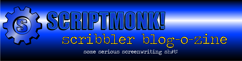 SCRIPTMONK!!! presents:<br>   scribbler blog-o-zine