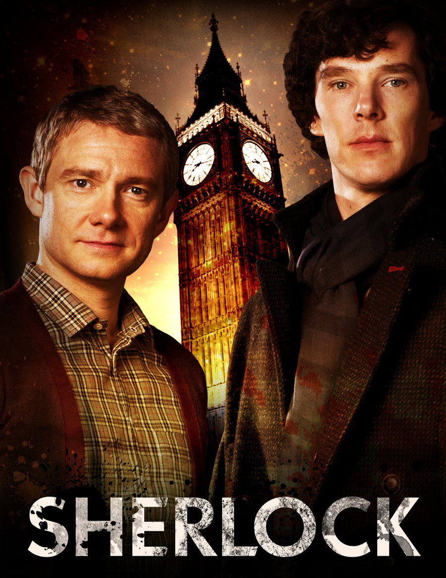 s01e03 The Great Game Sherlock PL
