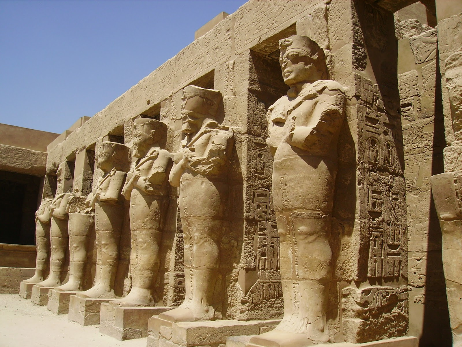 sites in egypt