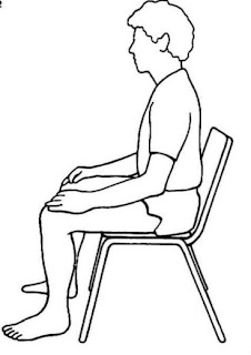 meditation chair posture