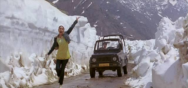 'Ye Ishq Haaye, Jannat Dikhaye' actually speak of the scenic beauty of Manali