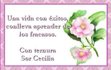 Las frases regalo de Sor Cecilia