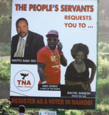 Political Kenya in 2013: Latest Politics and Kenya Economy News: TNA