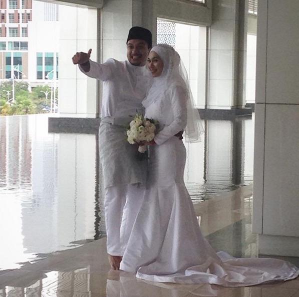 Shukri Yahaya dan Tya Adnan selamat diijabkabul