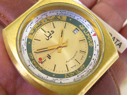 DALIL WORLD TIME WATCH - AUTOMATIC AS 2063 - NEW OLD STOCK (NOS)