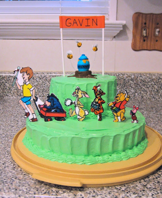 Winnie the Pooh Marching Band Cake 1